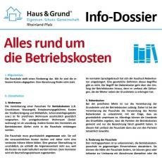 Info-Dossier: Alles rund um die Betriebskosten