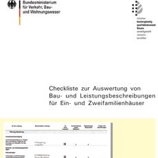 Kostenloser Bonus-Artikel: Checkliste Leistungsbeschreibung (Ergänzung zum Bauvertrag)