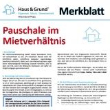 Merkblatt: Betriebskosten-Pauschale