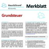 Merkblatt: Erlass der Grundsteuer