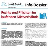 Info-Dossier: Rechte und Pflichten im laufenden Mietverhältnis